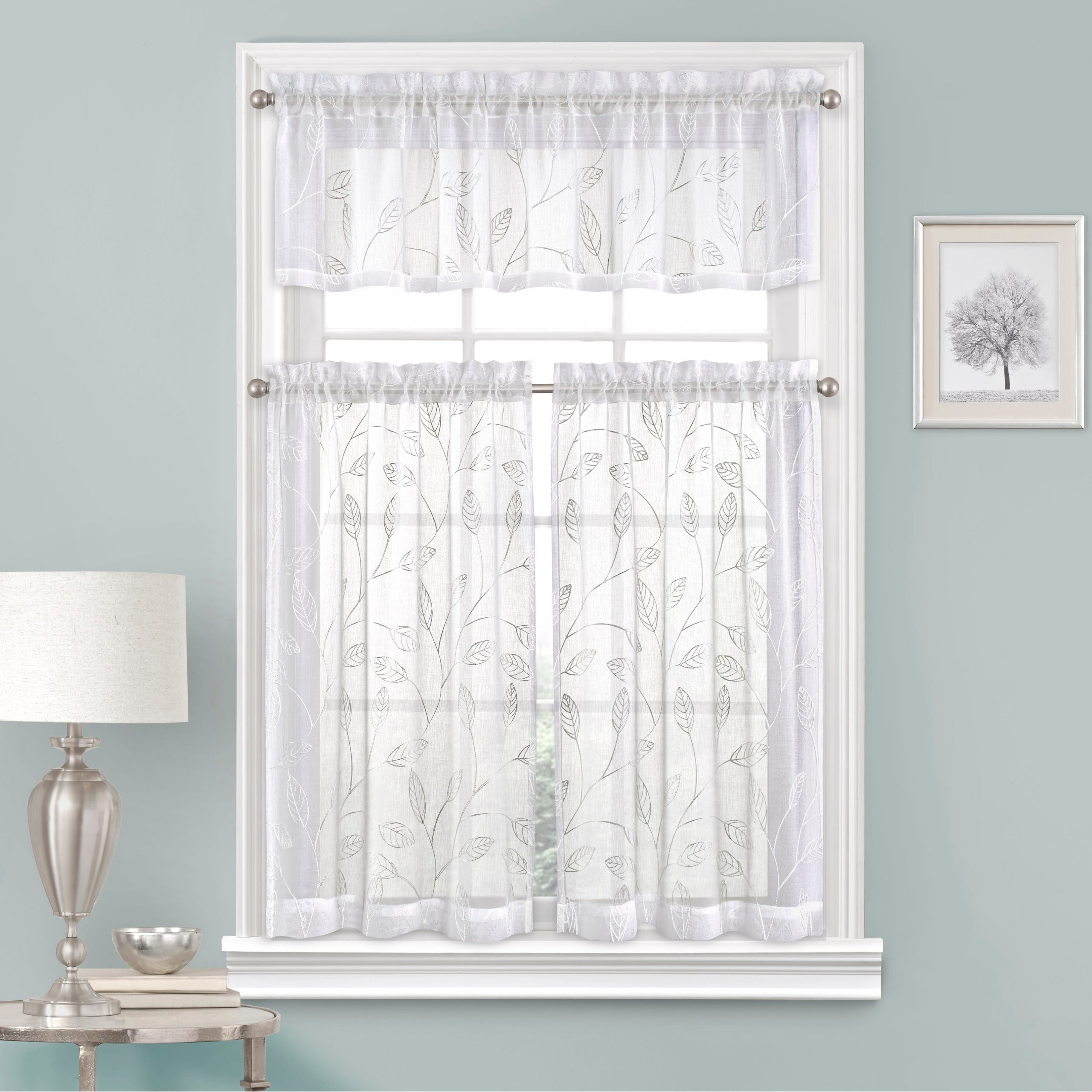 Vue Window Solutions Prairie Tier Pair Intended For Cotton Classic Toast Window Pane Pattern And Crotchet Trim Tiers (View 19 of 20)