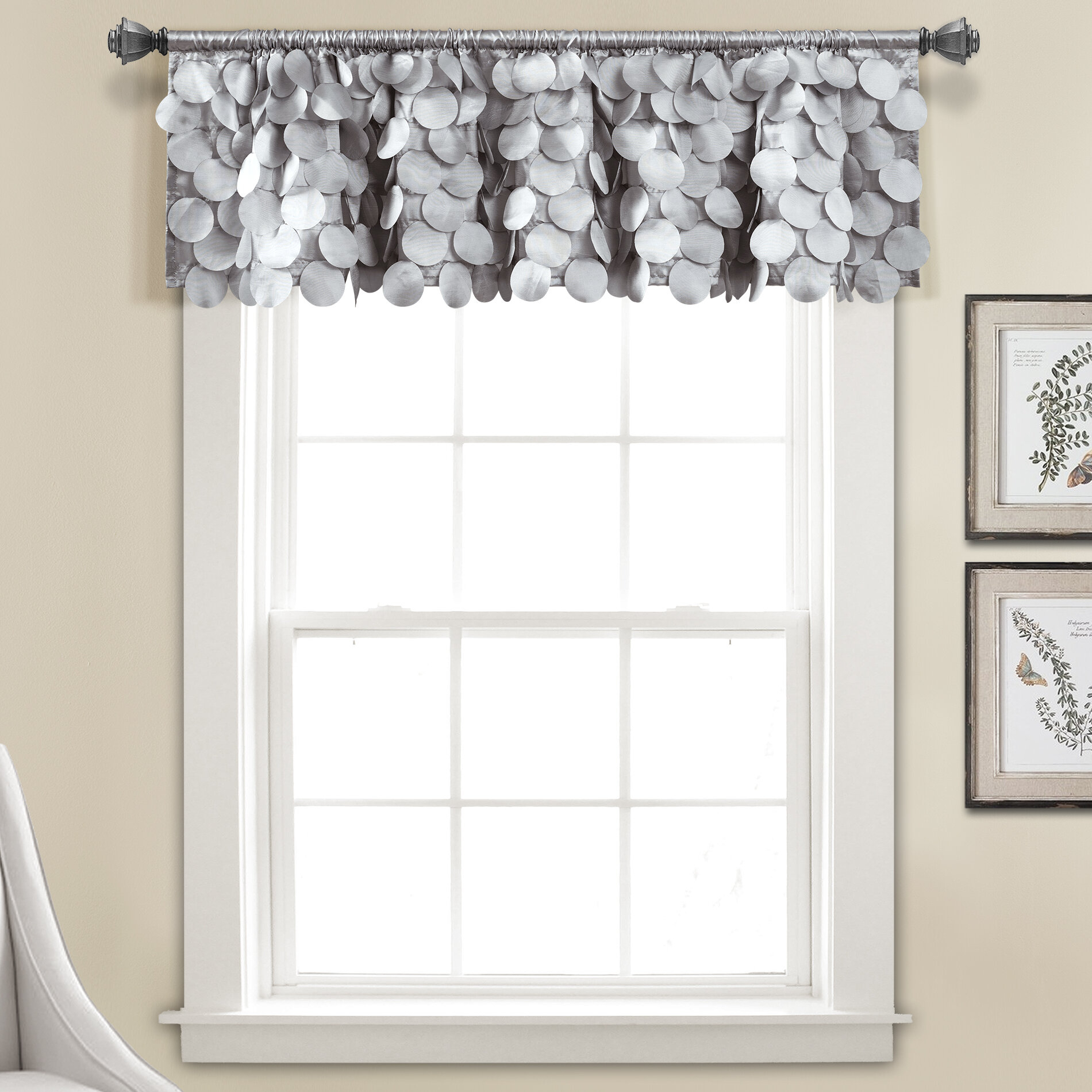 Willa Arlo Interiors Willingham Window Valance & Reviews In Luxury Light Filtering Straight Curtain Valances (View 7 of 20)
