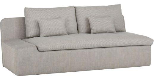 Kasha 2 Seat Fabric Sofa Within Kasha Armchairs (View 14 of 20)