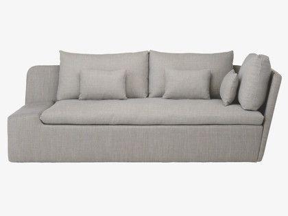 Kasha Fabric Left Arm Lounger   Grey Fabric, Fabric Sofa For Kasha Armchairs (View 20 of 20)