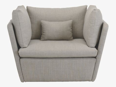 Kasha Grey Fabric Armchair – Upholstery Habitatuk   Grey Regarding Kasha Armchairs (View 4 of 20)