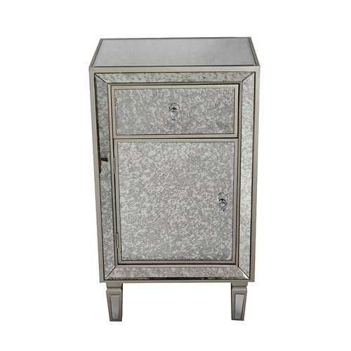 """17'.7"""" X 13"""" X 31'.5"""" Champagne Mdf, Wood, Mirrored Glass With Kaysville 31.5"""" Wide Drawer Servers (Gallery 9 of 15)"""