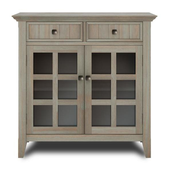 """36 Wide Sideboard – Summervilleaugusta Throughout Barkell 42"""" Wide 2 Drawer Acacia Wood Drawer Servers (View 4 of 15)"""