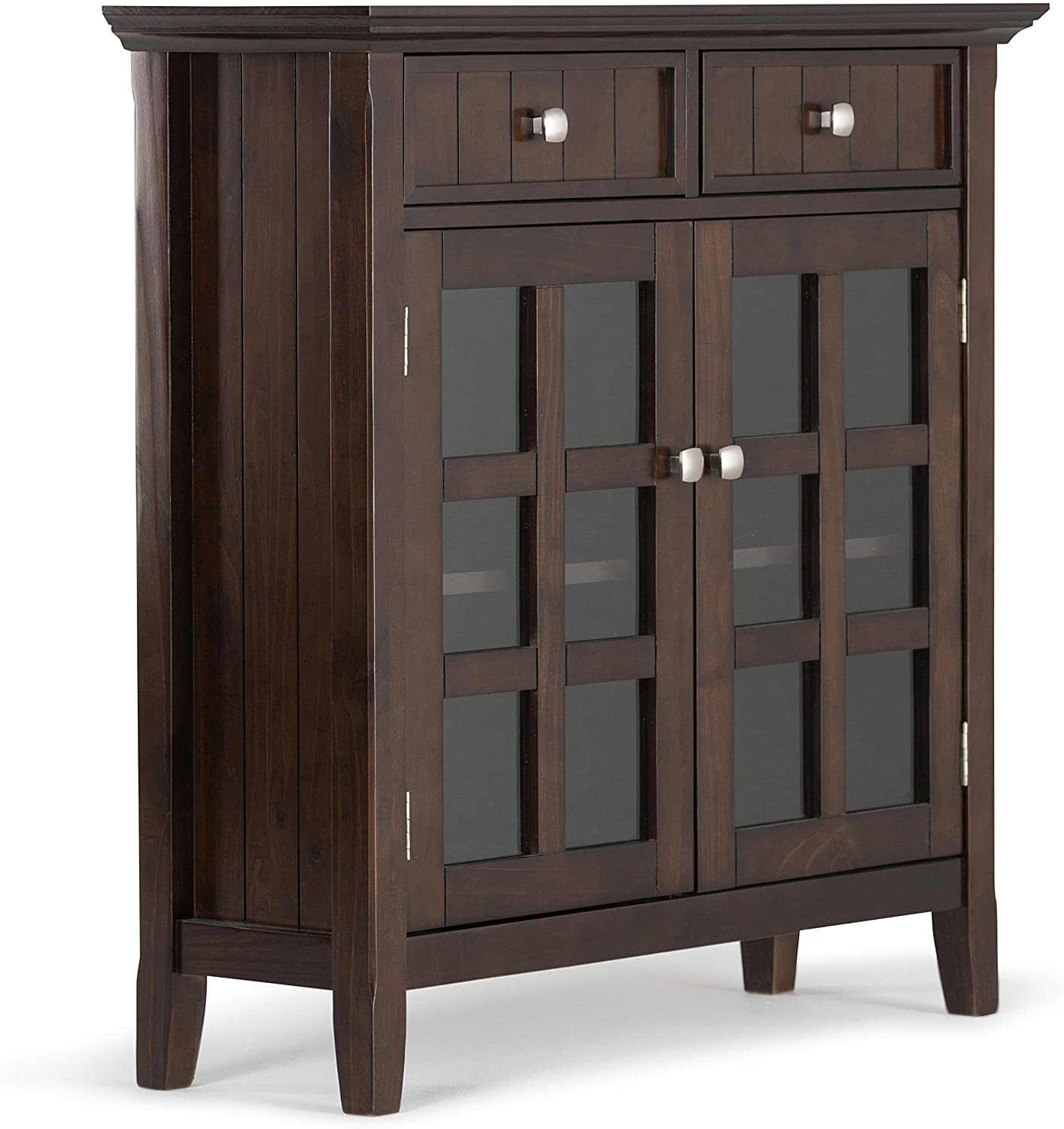 """Acadian Solid Wood 36 Inch Wide Rustic Entryway Hallway Throughout Nahant 36"""" Wide 4 Drawer Sideboards (View 3 of 15)"""