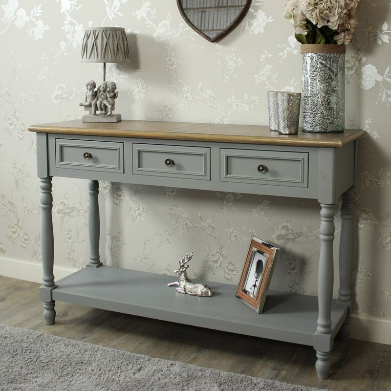 """Admiral Range – Three Drawer Sideboard/console Table (with In Searsport 48"""" Wide 4 Drawer Buffet Tables (View 8 of 15)"""