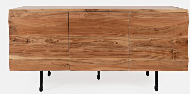 """Ato 72"""" Wide Acacia Wood Sideboard In 2020   Acacia Wood With Regard To Coles 72 Wide Sideboards (View 10 of 15)"""