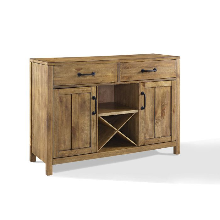 """Avenal 52"""" Wide 2 Drawer Sideboard 