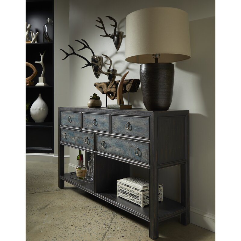 """Bloomsbury Market Thorold 60'' Wide 5 Drawer Sideboard Throughout Findley 66"""" Wide Sideboards (View 4 of 15)"""
