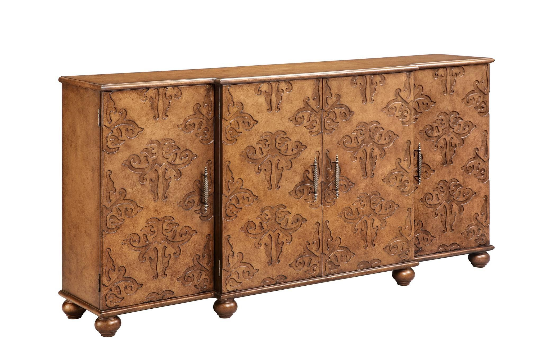 """Corvallis 4 Door Sideboard – 13193 Stein World 