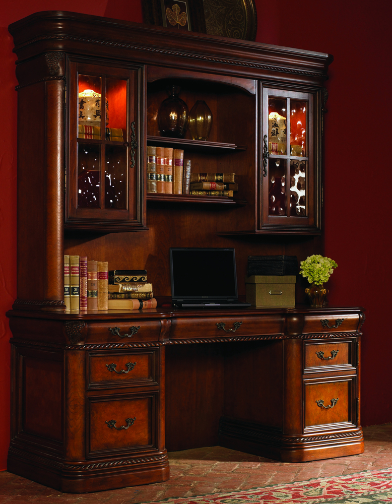 Emery Park – Calistoga Credenza Desk And Hutch – I74 322 323 Inside Park Credenzas (View 14 of 15)