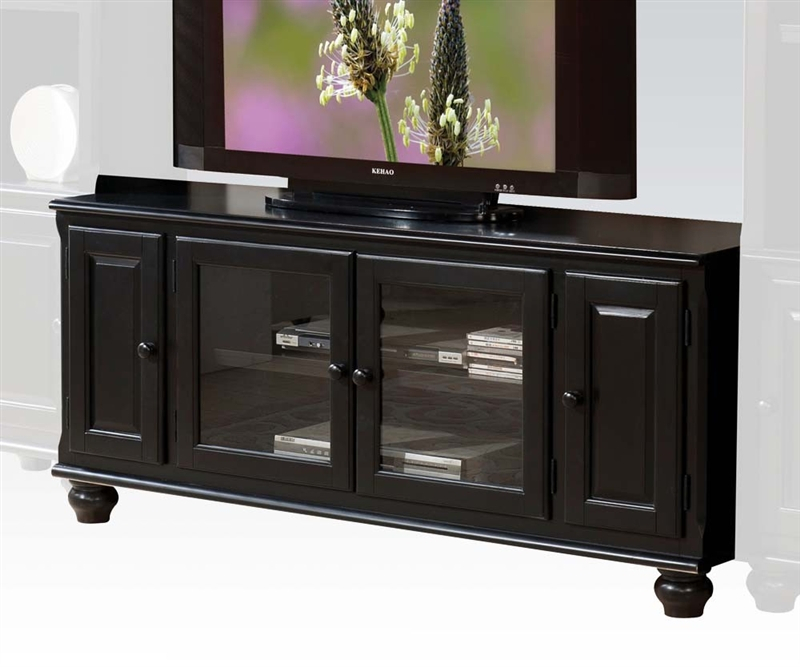 """Ferla 58 Inch Tv Stand In Black Finishacme – 91103 Pertaining To Jace Tv Stands For Tvs Up To 58"""" (View 9 of 15)"""