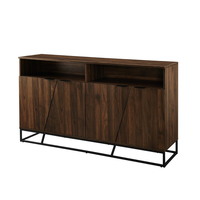 "Fritch 58"" Wide Sideboard | Allmodern In Keiko 58"" Wide Sideboards (View 9 of 15)"