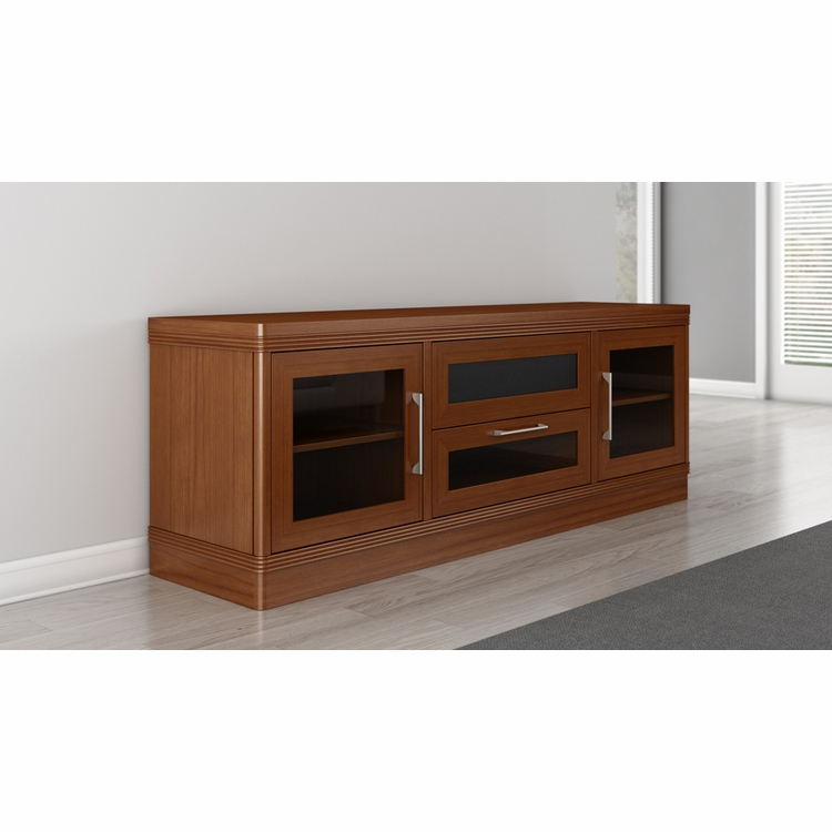 """Furnitech – 70"""" Transitional Tv Stand – Ft72trlc Inside Lederman Tv Stands For Tvs Up To 70"""" (View 9 of 15)"""