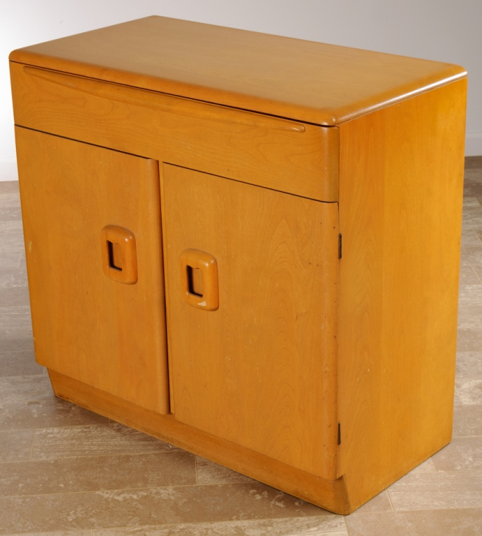 """Heywood Wakefield Blonde Buffet Server Pertaining To Stotfold 32"""" Wide Drawer Servers (View 5 of 15)"""