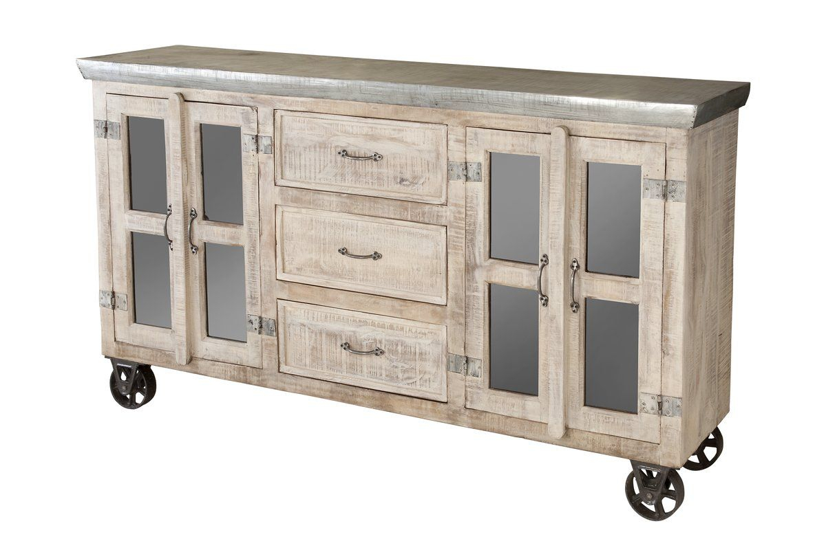 """Incredibly Unique The Bertram Sideboard Features Three Inside Nahant 36"""" Wide 4 Drawer Sideboards (View 15 of 15)"""