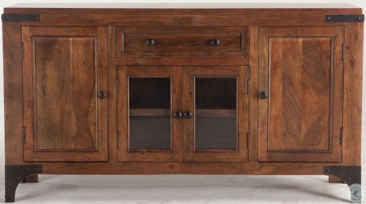 """Irondale Walnut Sideboard From Home Trends   Coleman Furniture With Regard To Barkell 42"""" Wide 2 Drawer Acacia Wood Drawer Servers (View 10 of 15)"""