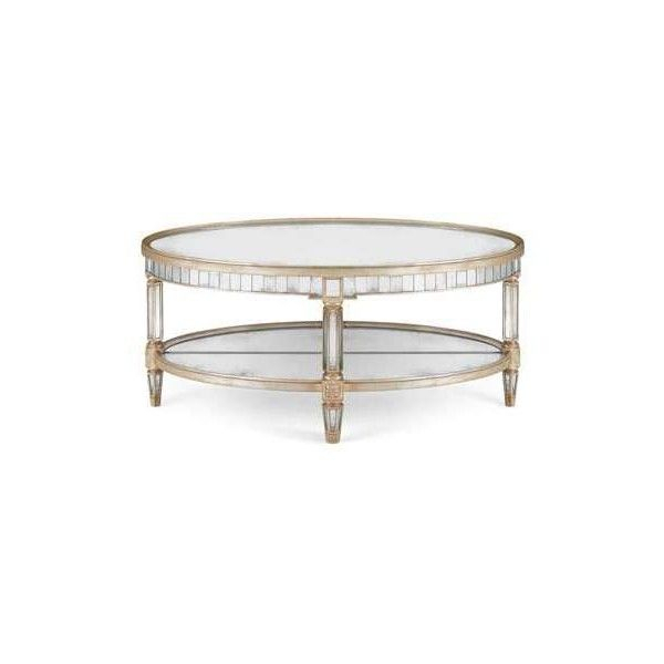 John Richard Collection Keene Mirrored Coffee Table For Keeney Sideboards (View 8 of 15)