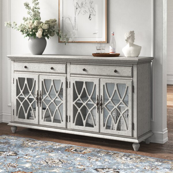 """Kelly Clarkson Home Adriana 72"""" Wide 2 Drawer Sideboard For Coles 72 Wide Sideboards (View 3 of 15)"""