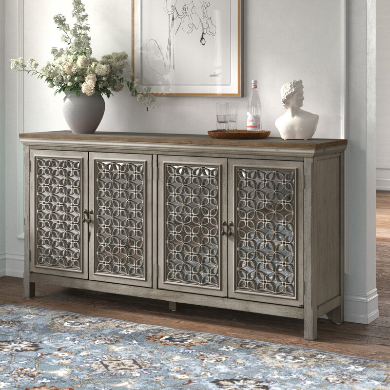 """Kelly Clarkson Home Del 72"""" Wide Sideboard & Reviews Pertaining To Coles 72 Wide Sideboards (View 4 of 15)"""