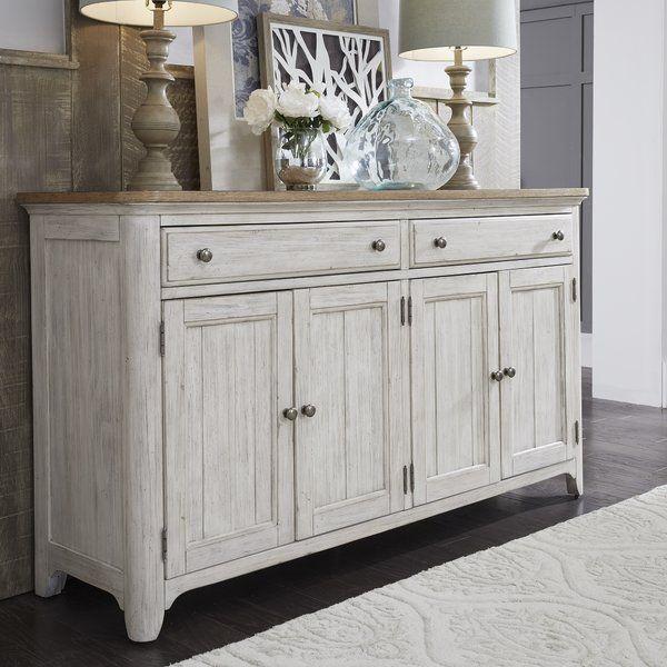 "Konen 68'' Wide 2 Drawer Sideboard | Liberty Furniture Inside Kidham 68"" Wide Sideboards (View 8 of 15)"