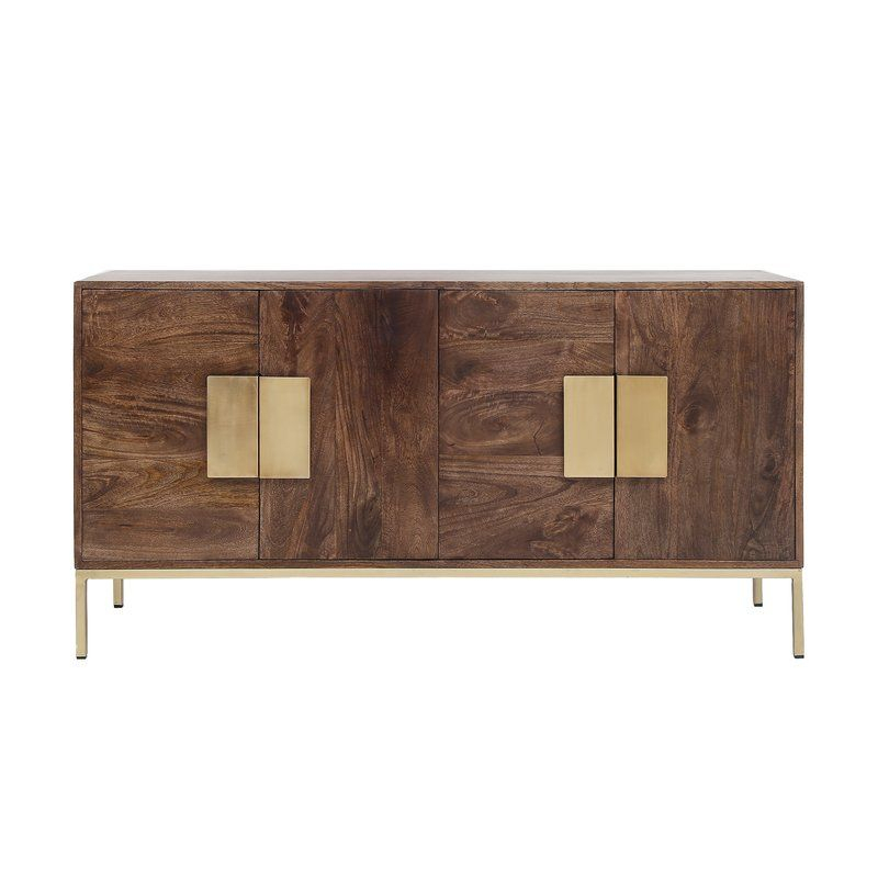 """Kyte Sideboard   Sideboard Decor, Retro Sideboard, Modern Intended For Beckenham 73"""" Wide Mango Wood Buffet Tables (View 6 of 15)"""