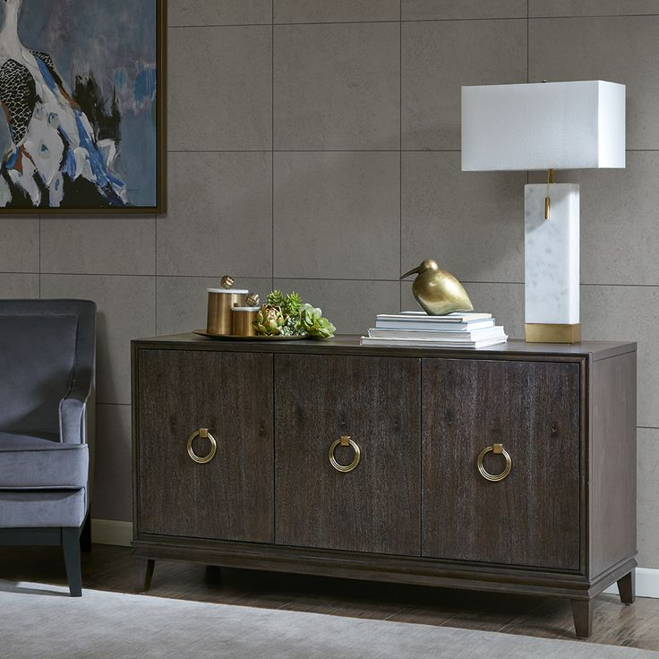 Madison Park Signature Hathaway Credenza In 2020 With Regard To Park Credenzas (View 8 of 15)