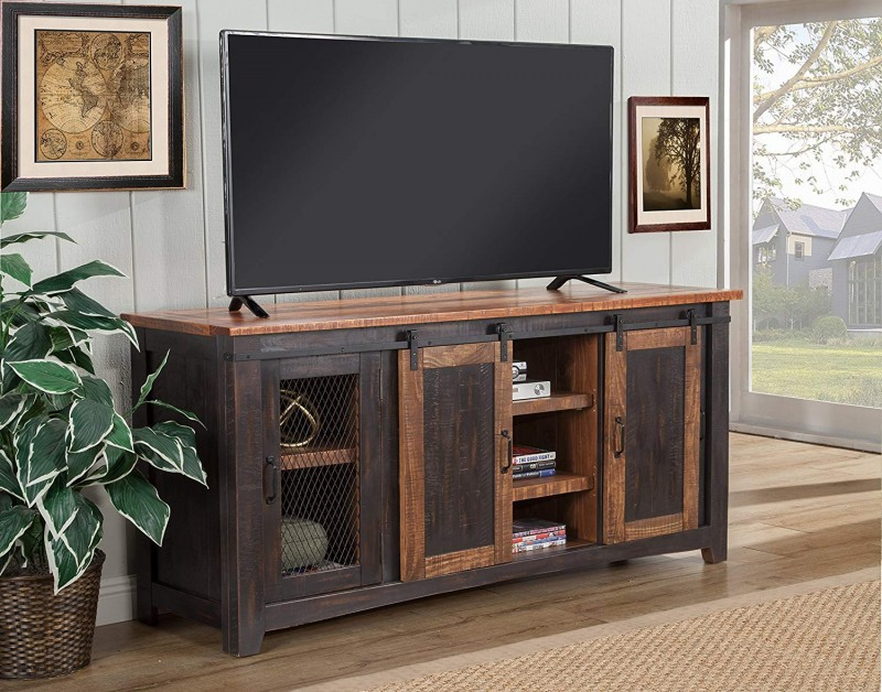 """Martin Svensson Home Santa Fe 65 Inch Tv Stand, Antique Inside Adalberto Tv Stands For Tvs Up To 65"""" (View 13 of 15)"""