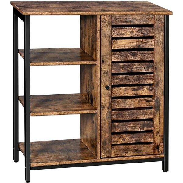 Millwood Pines Lowell Storage Cabinet, Floor Standing In Millwood Pines Floor Storage Cabinet With 2 Doors And 2 Open Shelves (View 2 of 15)