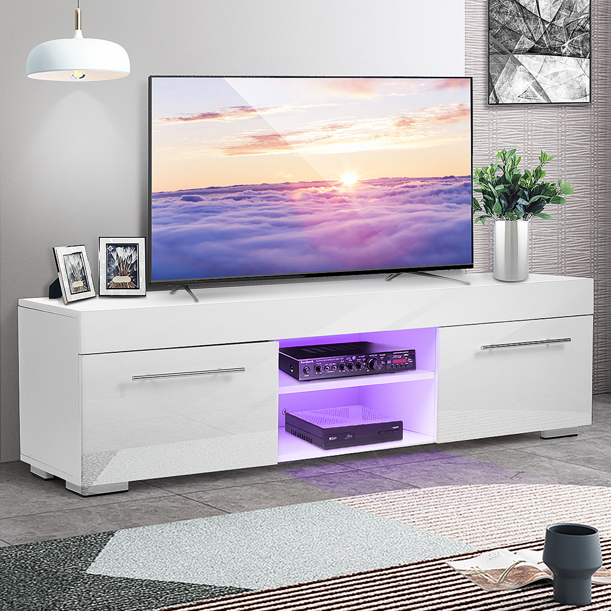 """Morden 51'' Tv Stand For Tvs Up To 58"""", Led Tv Unit Media With Regard To Jace Tv Stands For Tvs Up To 58"""" (View 11 of 15)"""