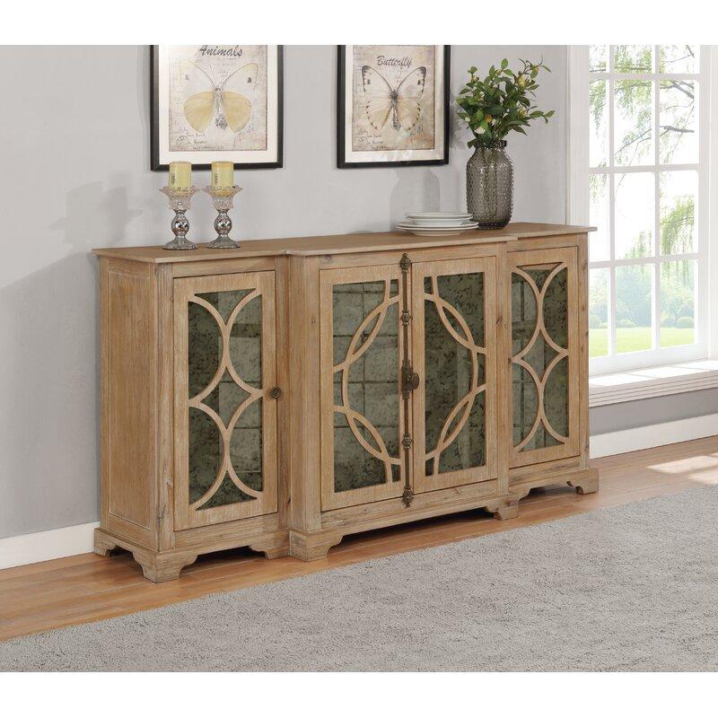 """One Allium Way® Vara 72"""" Wide Sideboard   Wayfair Throughout Coles 72 Wide Sideboards (View 2 of 15)"""