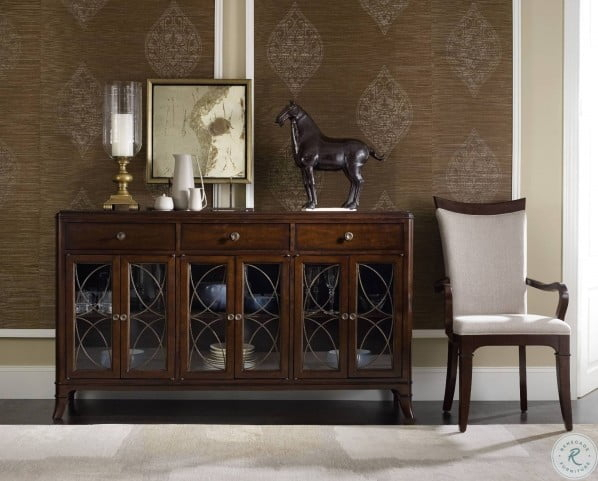 """Palisade Brown Buffet From Hooker 