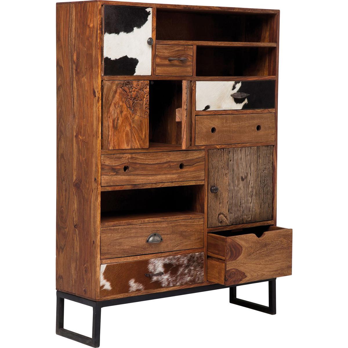 Rodeo 3 Doors 8 Drawers Cabinet Kare Design • Woo (View 7 of 15)