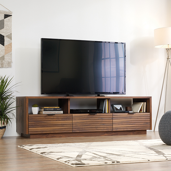 Sauder Harvey Park Entertainment Credenza (420834) – The Within Park Credenzas (View 2 of 15)