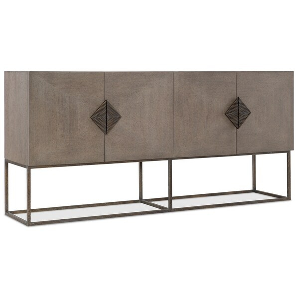 """Shop Hooker Furniture 6200 75900 Carmel 76"""" Wide 2 Drawer With Kidham 68"""" Wide Sideboards (View 12 of 15)"""