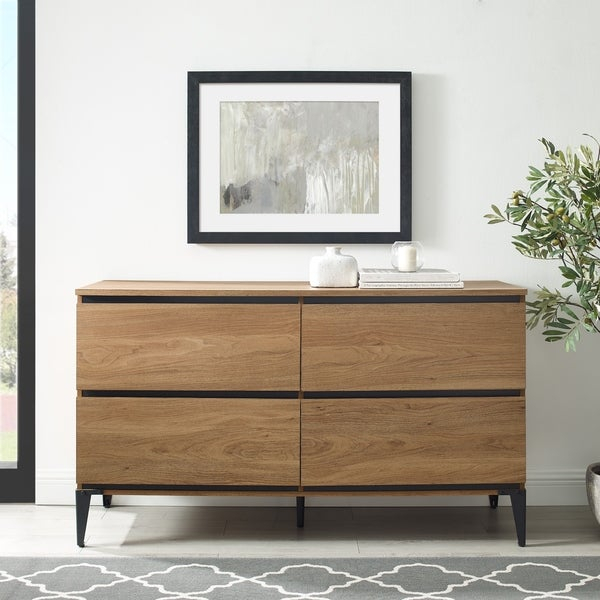 """Shop Strick & Bolton 52 Inch 4 Drawer Buffet Sideboard For Slattery 52"""" Wide 2 Drawer Buffet Tables (View 9 of 15)"""
