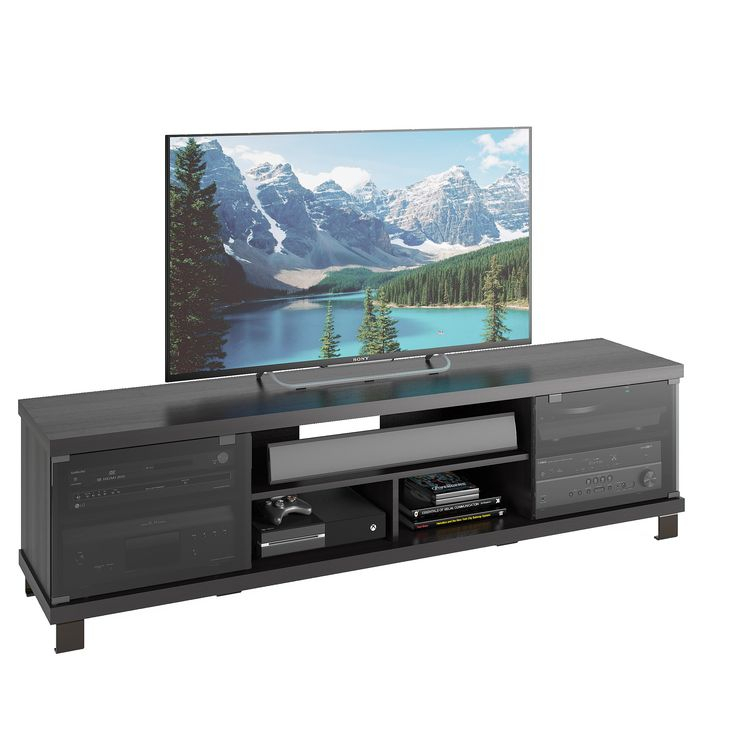 """Sonax Holland 71"""" Extra Wide Tv / Component Bench In With Lederman Tv Stands For Tvs Up To 70"""" (View 14 of 15)"""