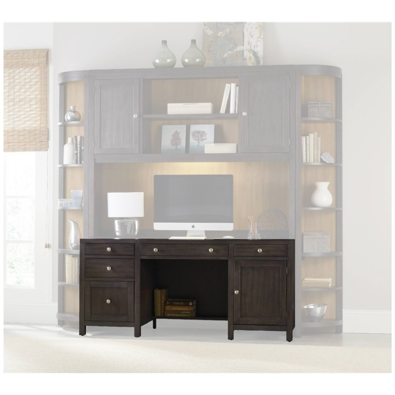 South Park Computer Credenza, Hutch, And Corner Unit Within Park Credenzas (View 11 of 15)