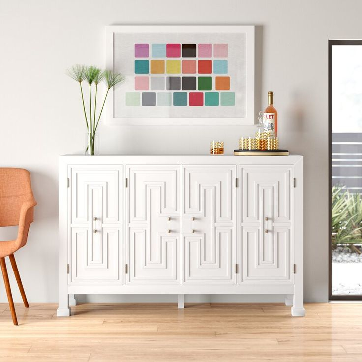 """Susanne 60"""" Wide Credenza In 2020 