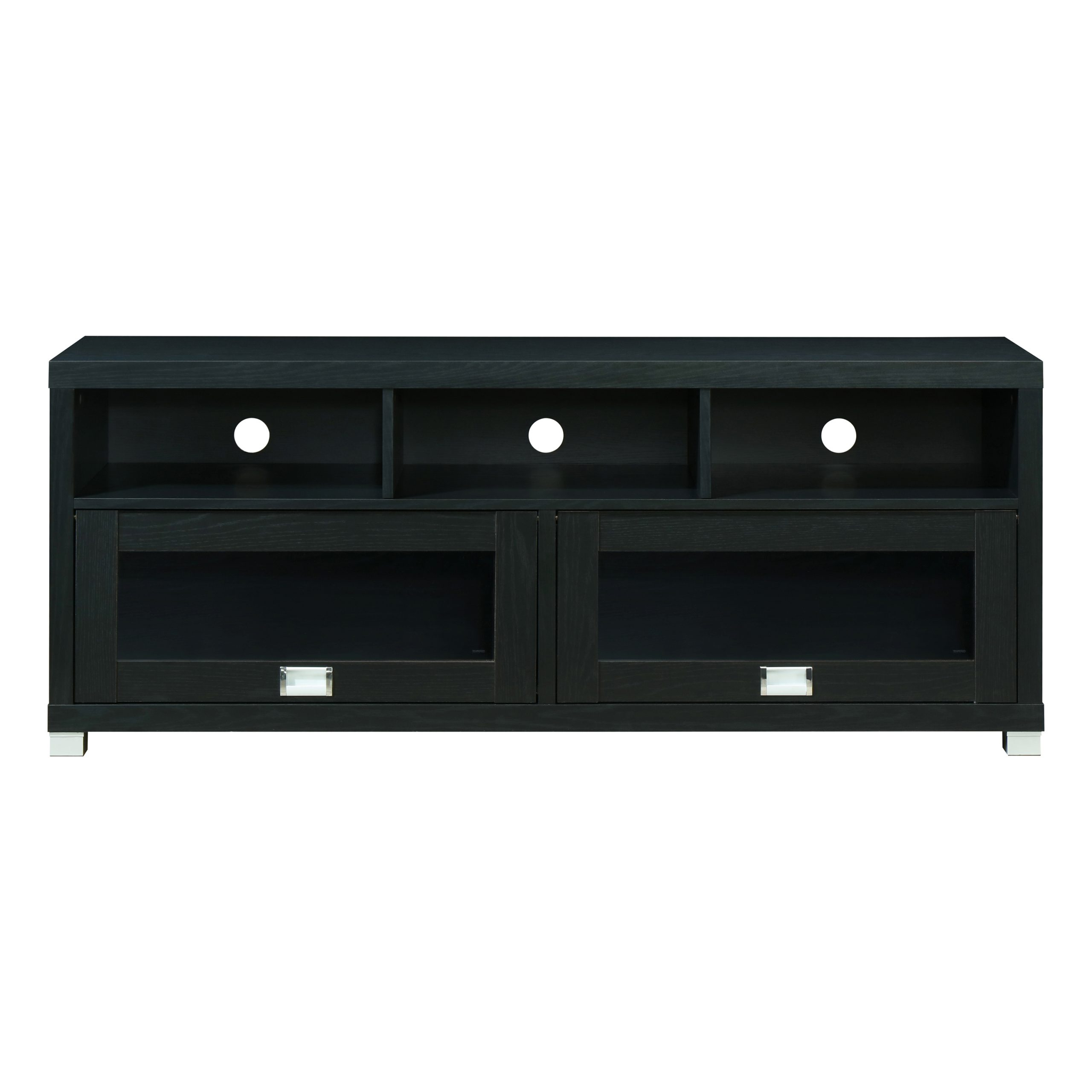 """Techni Mobili 58"""" Durbin Tv Stand For Tvs Up To 75"""",black Regarding Jace Tv Stands For Tvs Up To 58"""" (View 10 of 15)"""