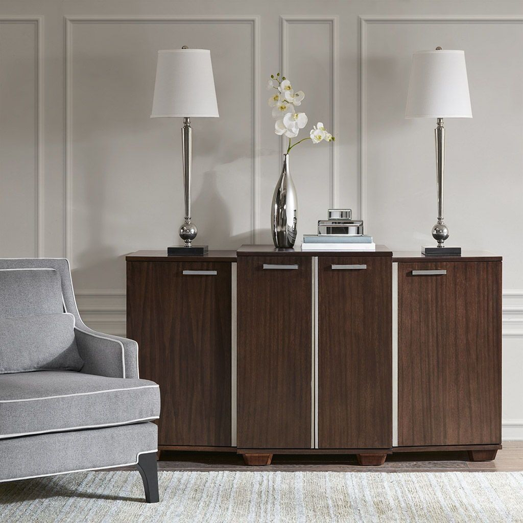 The Madison Park Signature Vandyke Credenza Provides The With Park Credenzas (View 10 of 15)