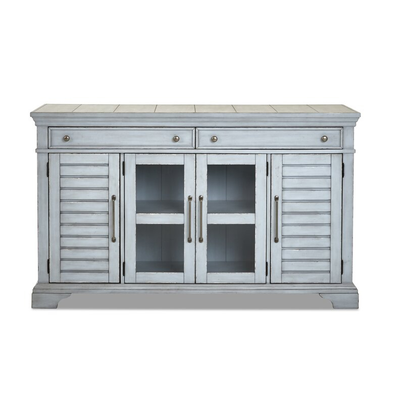 """Trisha Yearwood Home Collection Trisha Yearwood Home 66 In Findley 66"""" Wide Sideboards (View 2 of 15)"""