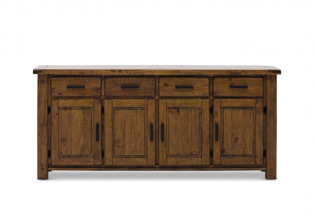 """Woodlands 4 Door 4 Drawer Buffet 