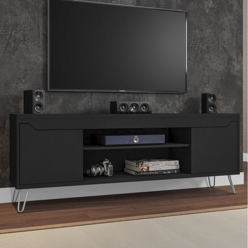 """Wrought Studio Kerby Tv Stand For Tvs Up To 70 Inches Inside Lederman Tv Stands For Tvs Up To 70"""" (View 2 of 15)"""