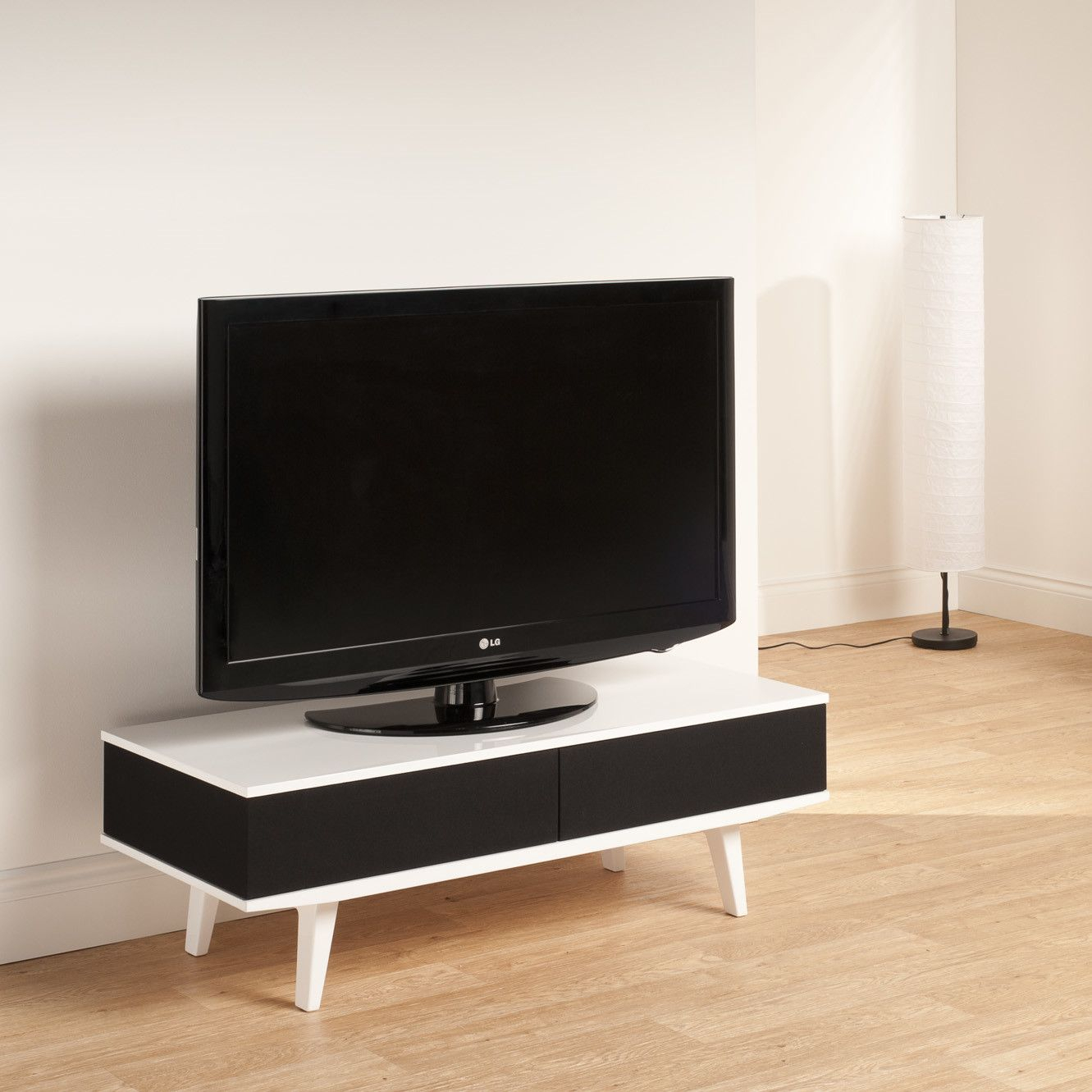 """$289 Techlink Fabrik 44"""" Low Profile Tv Stand & Reviews For Techlink Air Tv Stands (View 4 of 15)"""