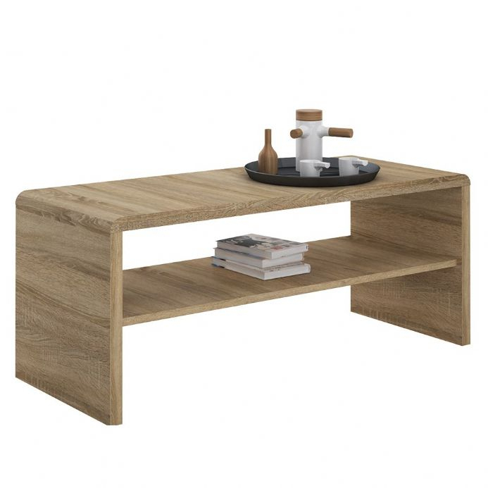4 You Wide Coffee Table Tv Unit In Sonama Oak With Regard To Tiva Ladder Tv Stands (View 8 of 11)