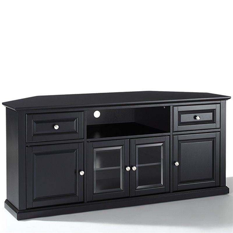 """60"""" Corner Tv Stand In Black – Cf1000260 Bk Regarding Corner 60 Inch Tv Stands (View 8 of 15)"""