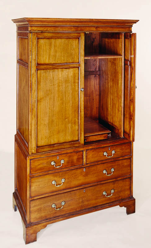 8745a George Iii Style Maple Tv Cabinet | Burton Ching Ltd (View 12 of 15)