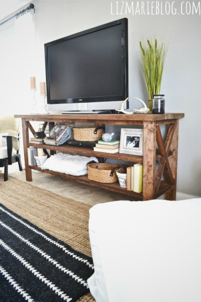 9 Cool Diy Tv Stands And Consoles To Make – Shelterness Inside Baby Proof Contemporary Tv Cabinets (View 13 of 15)