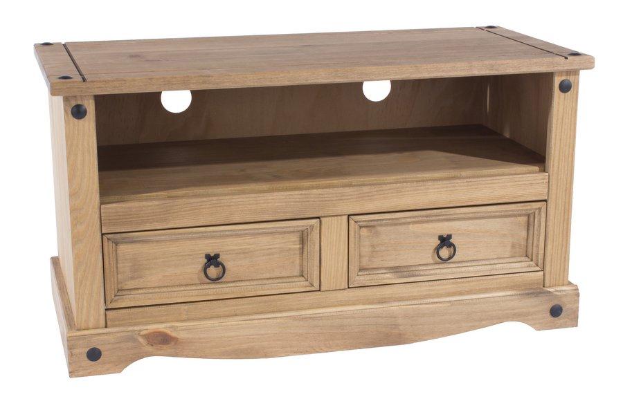 Abdabs Furniture – Corona Pine Flat Screen Tv Cabinet Regarding Corona Grey Flat Screen Tv Unit Stands (View 6 of 15)