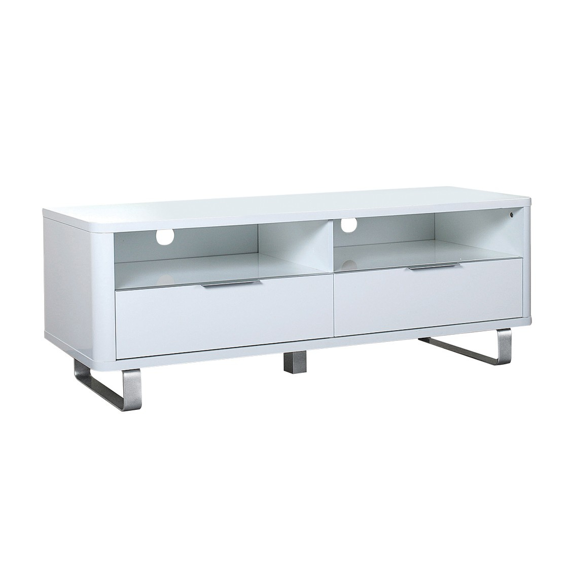 Accent Sideboard White – Furnmart® Pertaining To Tiva Ladder Tv Stands (View 10 of 11)